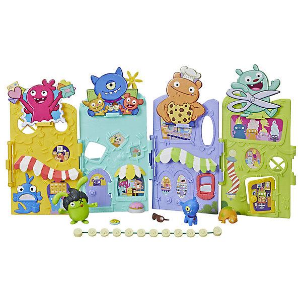 Hasbro Игровой набор Ugly Dolls Агливилль, с фигурками