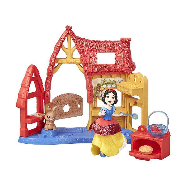 Купить Игровой набор Disney Princess Royal Clips, Домик Белоснежки, Hasbro, Китай, Женский