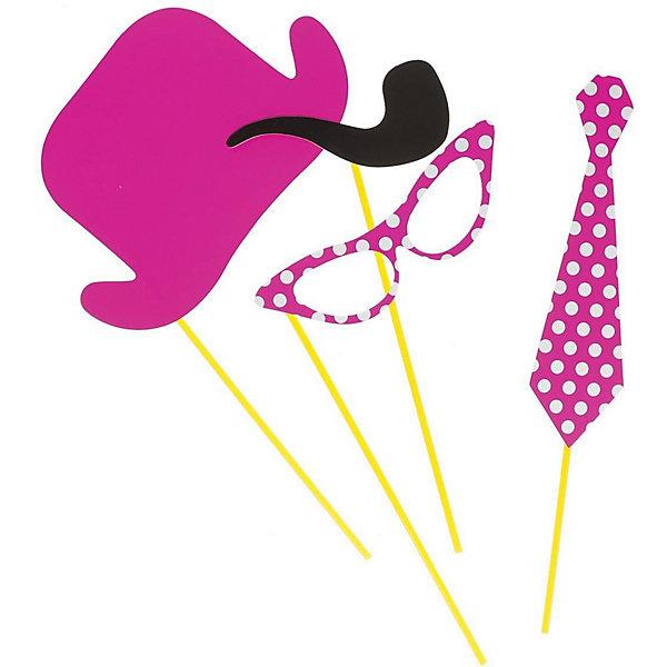 Купить Набор для вечеринок Феникс-Презент Розовый горошек, Китай, Унисекс