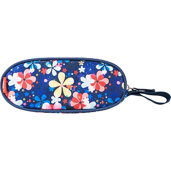 Купить Пенал Target Collection FLOWER SKY, овальный, Словения, синий, Женский