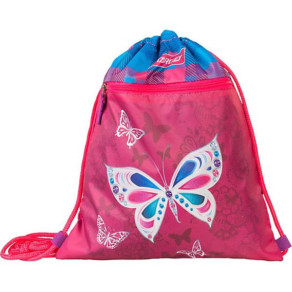 Сумка для детской сменной обуви Target Collection «Бабочка», розовый, Словения, Женский  - купить со скидкой