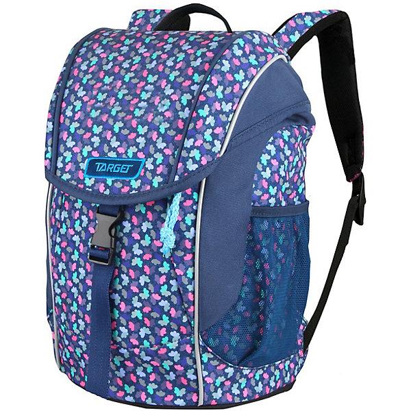 Дошкольный рюкзак Target Collection «Листья», синий