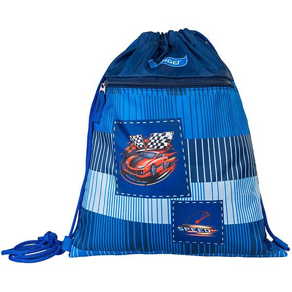 Купить Сумка для детской сменной обуви Target Collection «Гоночная машина», Словения, синий, Мужской