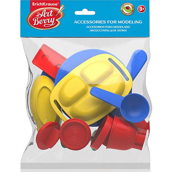 Erich Krause Пластиковые аксессуары для лепки ArtBerry Cookie Set