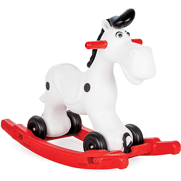 Купить Качалка-каталка Pilsan Lucky Horse Лошадка , с поддоном и колесиками, Турция, разноцветный, Унисекс