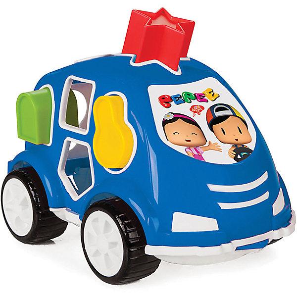 цена на Pilsan Машинка с геометрическими фигурами Пепи Pilsan Shape Sorter Car