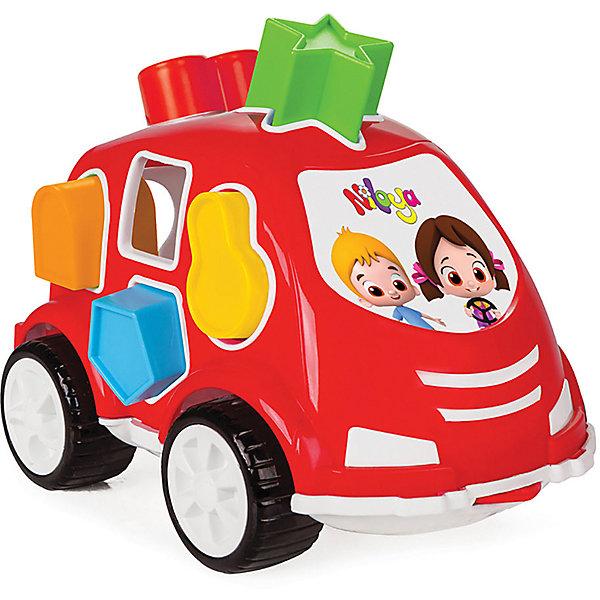 цена на Pilsan Машинка с геометрическими фигурами Нилоя Pilsan Shape Sorter Car