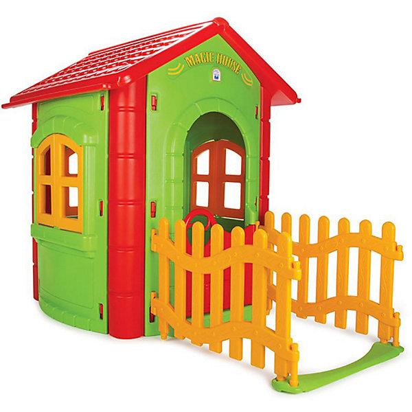 Pilsan Игровой домик Magic House, зеленый/красный