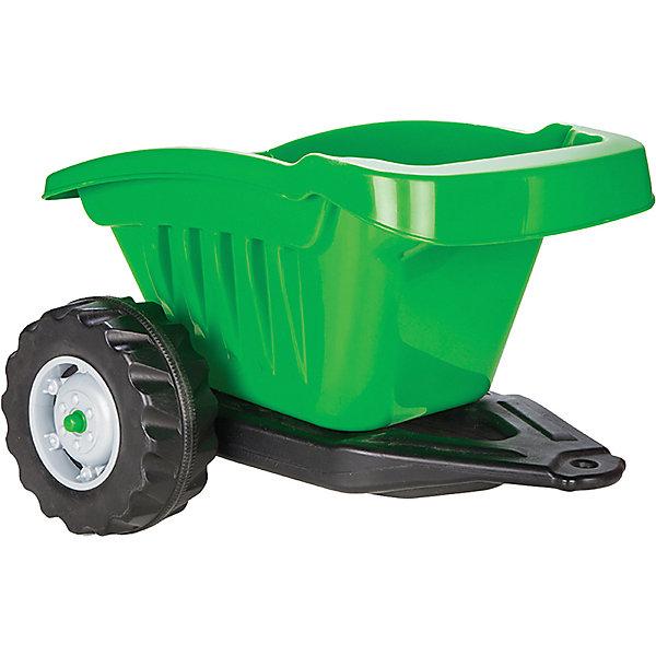 Прицеп для педального трактора Pilsan, зеленый