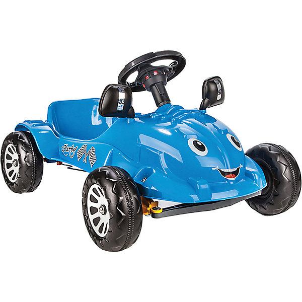 Педальная машина Pilsan Herby, синяя