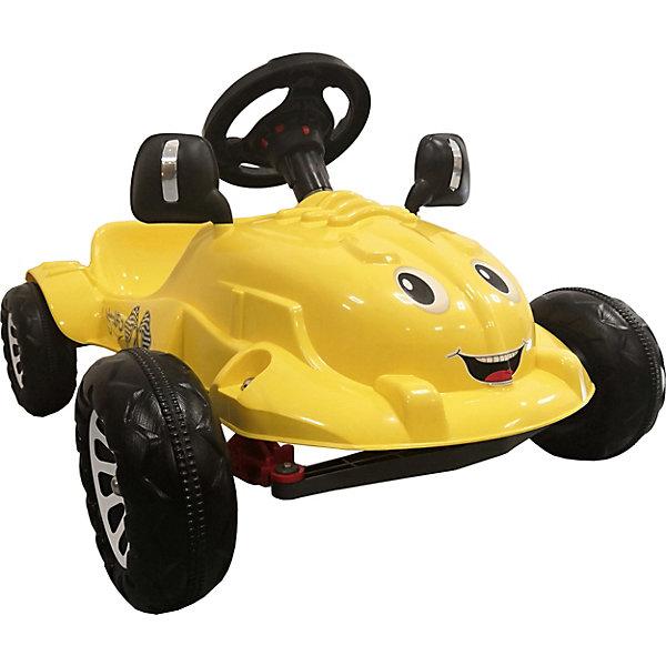 Педальная машина Pilsan Herby, желтая