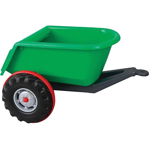 Прицеп к педальным машинам Pilsan Trailer, зеленый