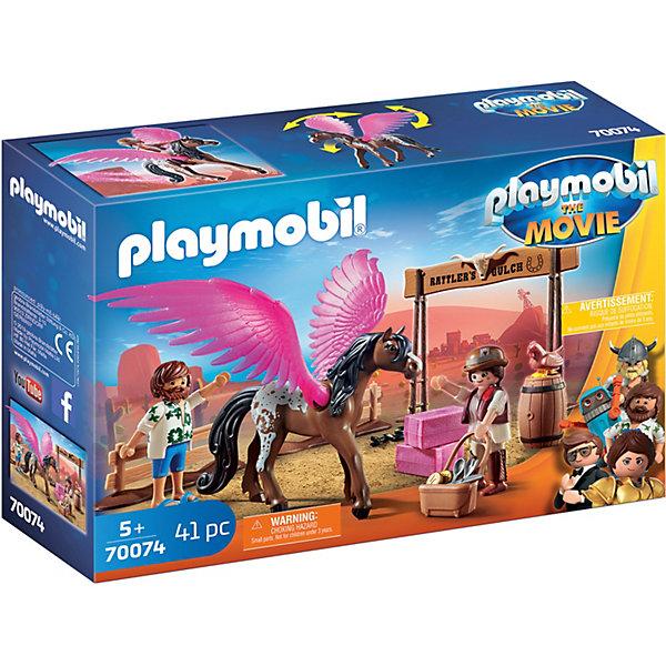 Фото - PLAYMOBIL® Конструктор Playmobil Марла и Дел с Пегасом, 41 элемент playmobil® конструктор playmobil охотник за привидениями