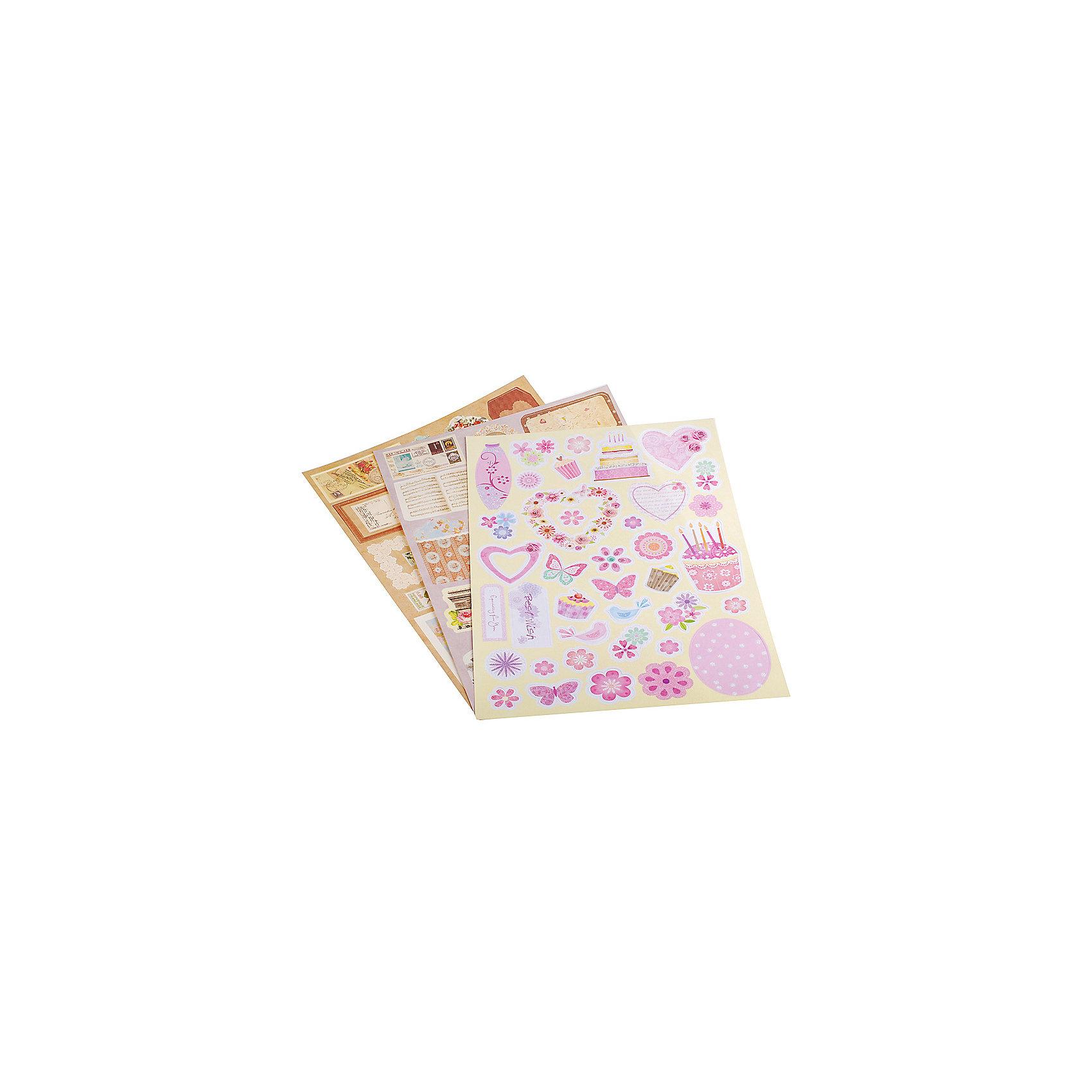Набор для создания открыток белоснежка радужный