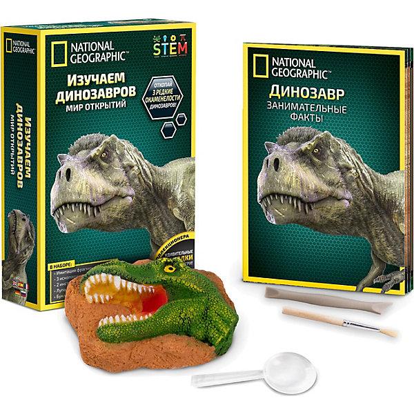 National Geographic Набор для раскопок Изучаем динозавров