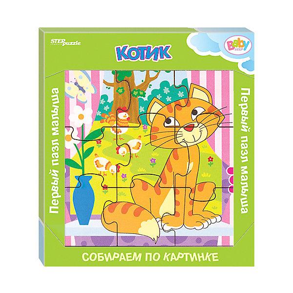 Купить Игра из дерева STEP puzzle Baby Step, Котик, Степ Пазл, Россия, Унисекс