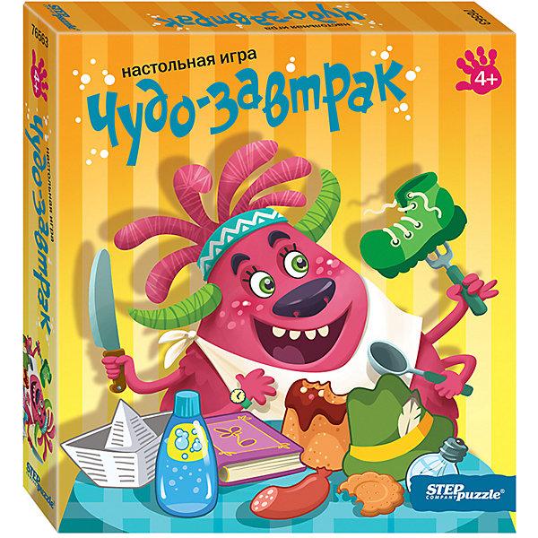 Степ Пазл Настольная игра STEP puzzle Чудо-завтрак