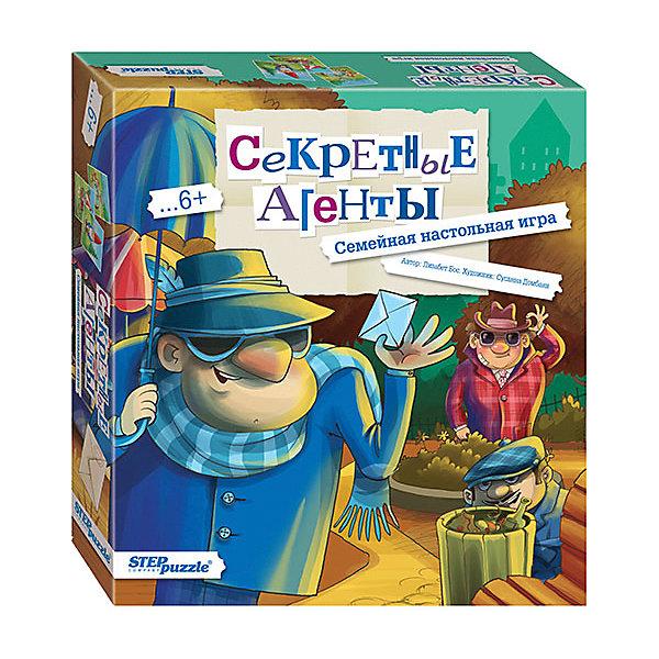 Купить Настольная игра STEP puzzle Секретные агенты , Степ Пазл, Россия, Унисекс