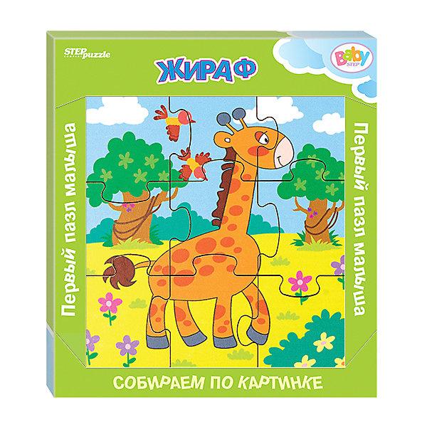 Купить Игра из дерева STEP puzzle Baby Step, Жираф, Степ Пазл, Россия, Унисекс