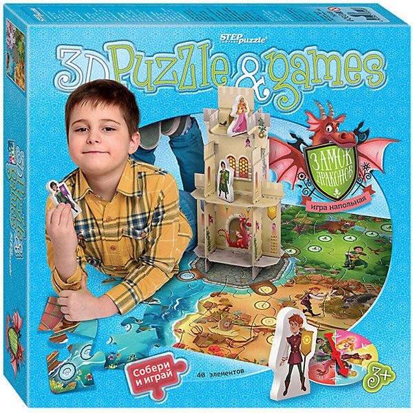 Степ Пазл Настольная игра STEP puzzle Замок драконов
