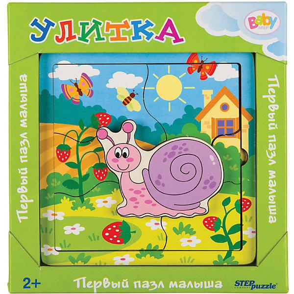 Купить Игра из дерева STEP puzzle Baby Step, Улитка, Степ Пазл, Россия, Унисекс