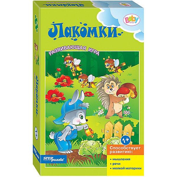 Купить Развивающая игра STEP puzzle Baby Step, Лакомки, Степ Пазл, Россия, Унисекс