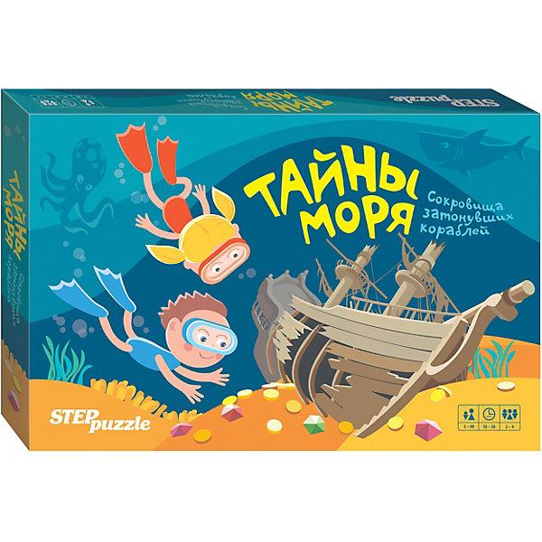 Настольная игра STEP puzzle Тайны моря , Степ Пазл, Россия, Унисекс  - купить со скидкой