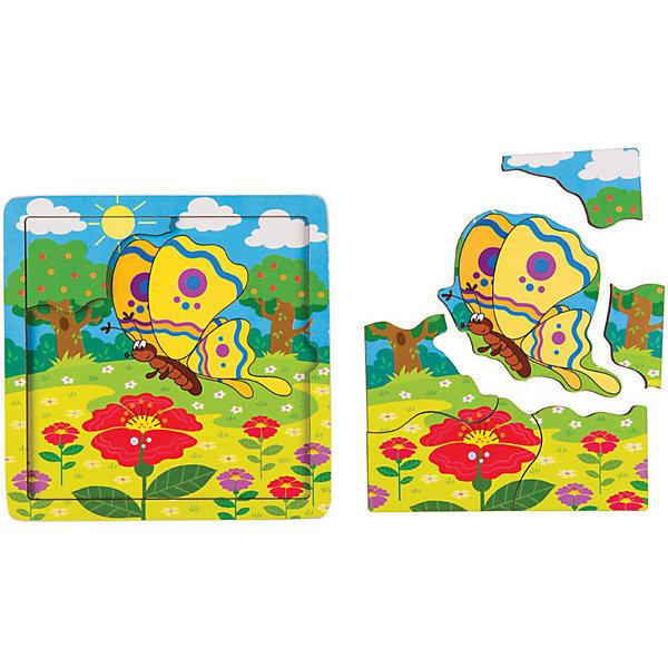 Купить Игра из дерева STEP puzzle Baby Step, Бабочка, Степ Пазл, Россия, Унисекс