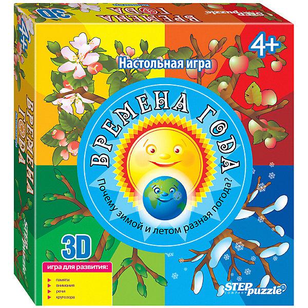 Купить Настольная игра STEP puzzle Времена года , Степ Пазл, Россия, Унисекс
