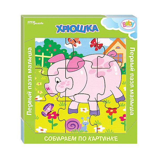 Купить Игра из дерева STEP puzzle Baby Step, Хрюшка, Степ Пазл, Россия, Унисекс