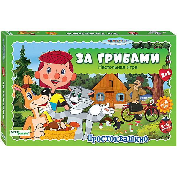 Купить Настольная игра STEP puzzle За грибами , Степ Пазл, Россия, Унисекс