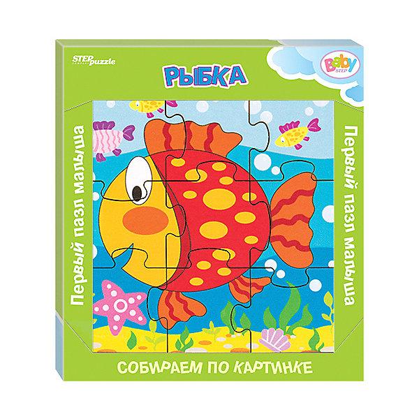 Купить Игра из дерева STEP puzzle Baby Step, Рыбка, Степ Пазл, Россия, Унисекс
