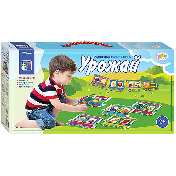 Купить Напольные паровозики STEP puzzle Baby Step, Урожай, Степ Пазл, Россия, Унисекс