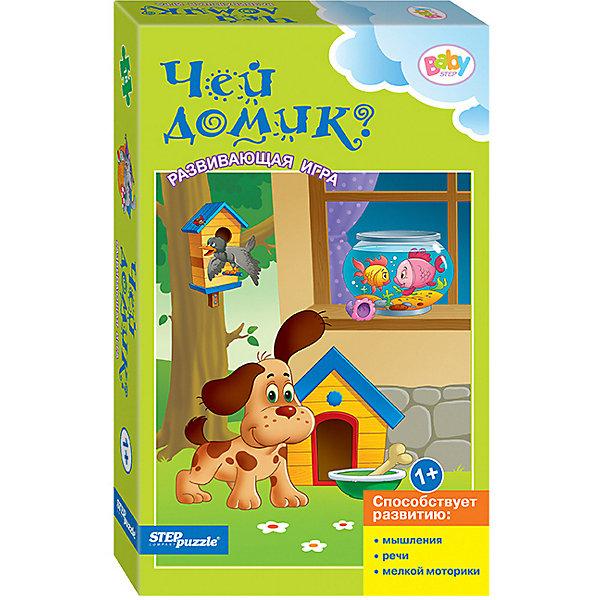 Купить Развивающая игра STEP puzzle Baby Step, Чей домик?, Степ Пазл, Россия, Унисекс