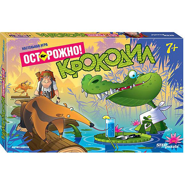 Степ Пазл Настольная игра STEP puzzle Осторожно: крокодил!