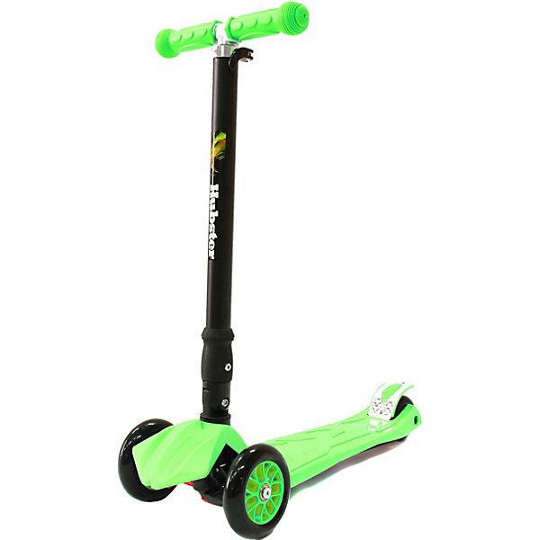 Купить Трехколесный самокат Hubster Maxi Plus, зеленый, Китай, Унисекс