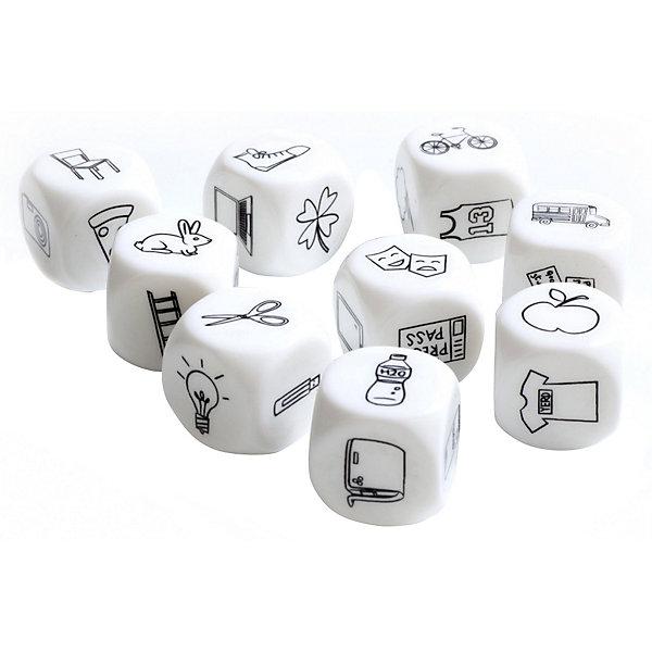 Кубики Bradex «Сочини историю», 9 штукДля дошкольников<br>Характеристики товара:<br><br>• материал: пластик<br>• в комплекте: 9 кубиков, инструкция<br>• размер кубика: 2,4х2,4х2,4 см<br>• упаковка: картонная коробка<br>• страна бренда: Израиль<br><br>Приятные на ощупь кубики с забавными картинками помогут создать увлекательную историю и весело провести время. Достаточно бросить все кубики и начать составлять свой рассказ, изучая выпавшее изображение каждого кубика.  Способствует развитию полезных навыков.