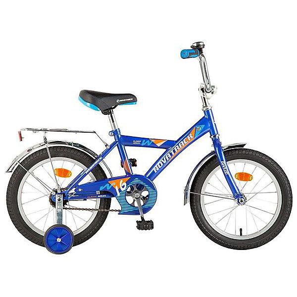 Велосипед Novatrack Twist 12, синийВелосипеды<br>Характеристики:<br><br>• материал рамы: сталь<br>• материал обода: алюминий <br>• диаметр колес: 12 дюймов<br>• количество скоростей: 1<br>• тип тормоза: ножной задний<br>• вилка: жесткая<br>• втулки: Shunfeng/Dachang<br>• шатуны: однокомпонентные<br>• страна бренда: Россия<br><br>Дизайн рамы позволяет ребенку удобно и быстро взбираться на велосипед. Ручки руля оснащены противоударными ограничителями. Велосипед подходит для неровных дорог благодаря страховочным боковым колесам, которые можно снять. Цепь защищена накладкой, поэтому в нее не попадает одежда при катании. Длинные стальные крылья не дают брызгам воды и грязи лететь вверх. У багажника есть удобный зажим для вещей. Велосипед дополнен катафотами и звонком.