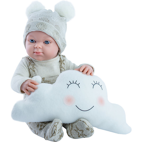 Купить Кукла Paola Reina Бэби, с подушкой-облаком, 32 см, Испания, разноцветный, Женский