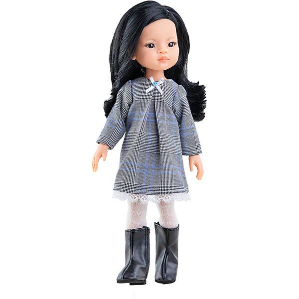 Купить Кукла Paola Reina Лиу, 32 см, Испания, разноцветный, Женский