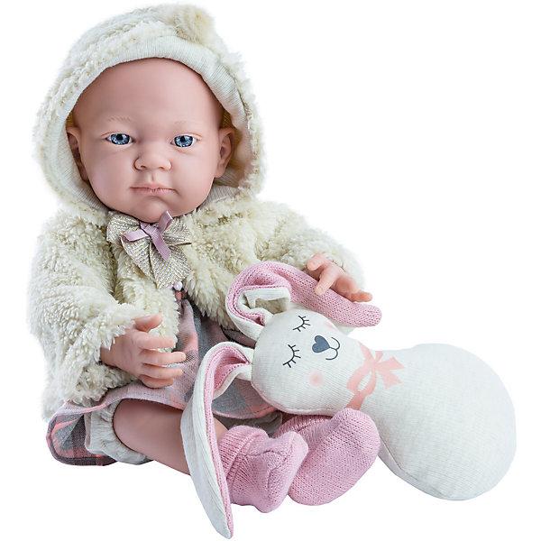 Paola Reina Кукла Paola Reina Бэби, с подушкой-зайцем, 36 см цена 2017