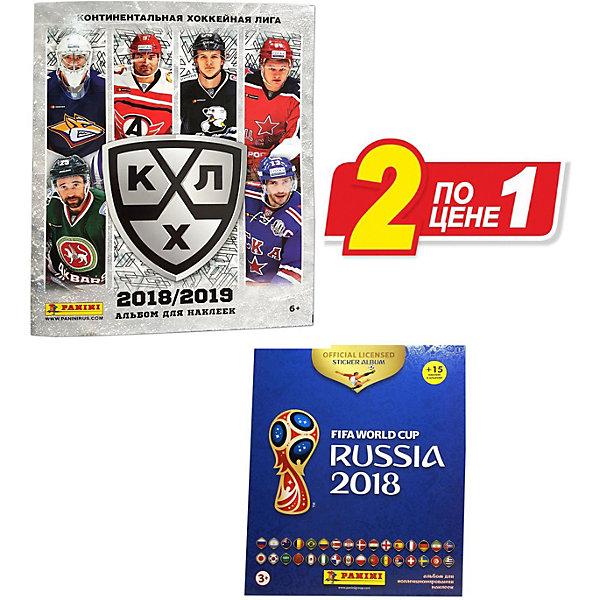 Panini Альбомы КХЛ сезон 2018-19, Чемпионат Мира по футболу 2018