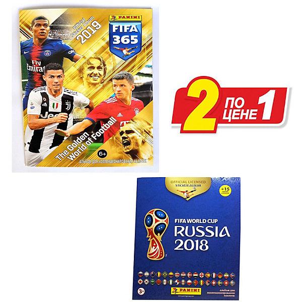 Купить Альбомы Panini FIFA 365-2019 , Чемпионат Мира по Футболу FIFA 2018 , Италия, Унисекс