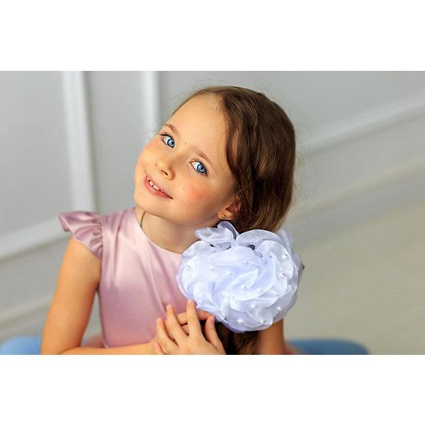 Резинка AliciiaАксессуары для волос<br>Характеристики:<br><br>• материал: текстиль<br>• в наборе: 1 бант<br><br>Большой бант для волос выполнен из лент. Подойдет для украшения прически на праздник, а также в будний день.