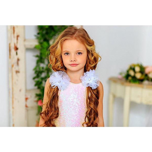 Резинка Aliciia, 2 штАксессуары для волос<br>Характеристики:<br><br>• материал: текстиль<br>• в наборе: 2 резинки<br><br>Нарядные резинки для волос выполнены из лент двух видов. Каждое изделие украшено камнями. Резинки подойдут для украшения прически на праздник, а также в будний день.