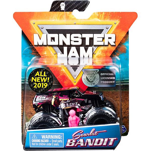 Spin Master Мини-машинка Spin Master Monster Jam Scarlet Bandit spin master швейная машинка sew cool
