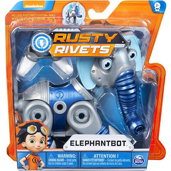 Купить Набор Spin Master Rusty Rivets Изобретение: Слонобот , Китай, синий, Мужской