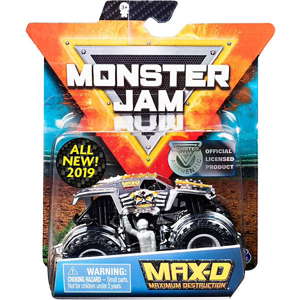 Spin Master Мини-машинка Monster Jam Max-D