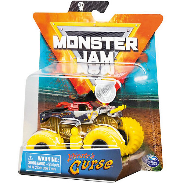 Spin Master Мини-машинка Monster Jam Pirates Curse