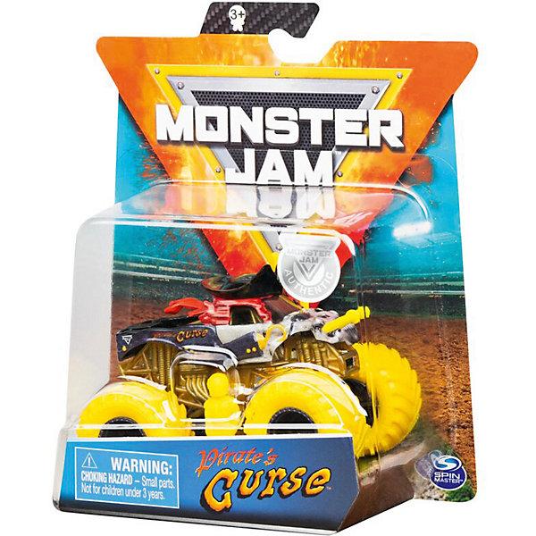 Spin Master Мини-машинка Monster Jam Pirates Curse